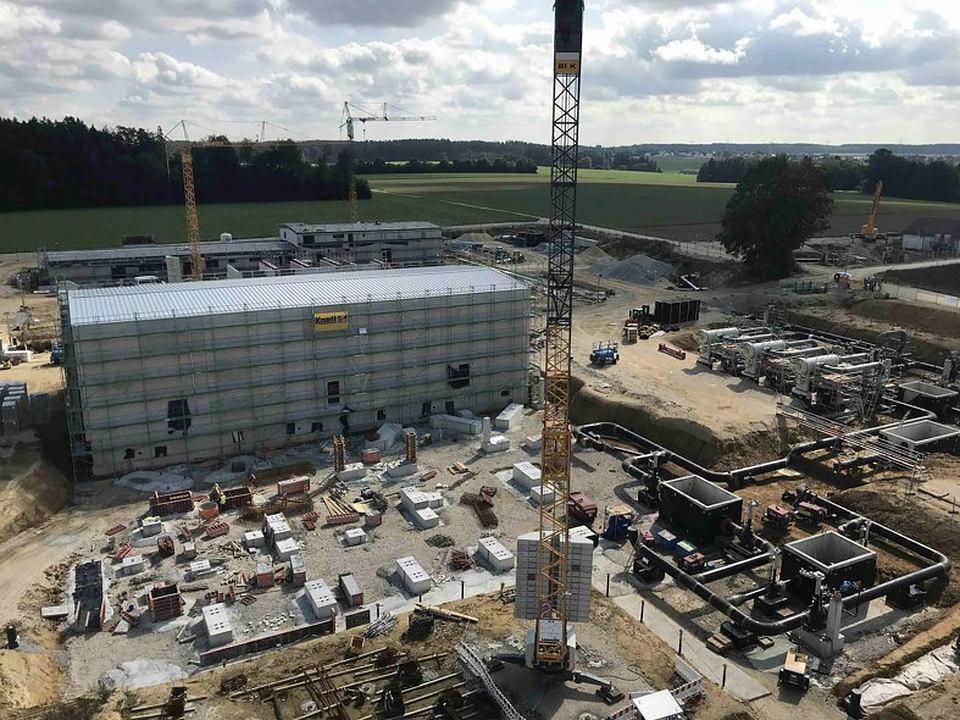 韦尔廷根新建造压缩机站