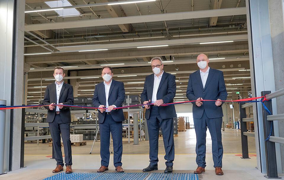 豪夫技术公司开设最先进的物流中心